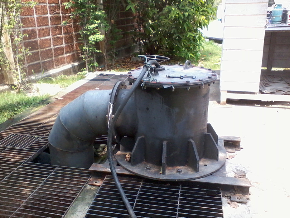 Installation of wastewater pumps-5
